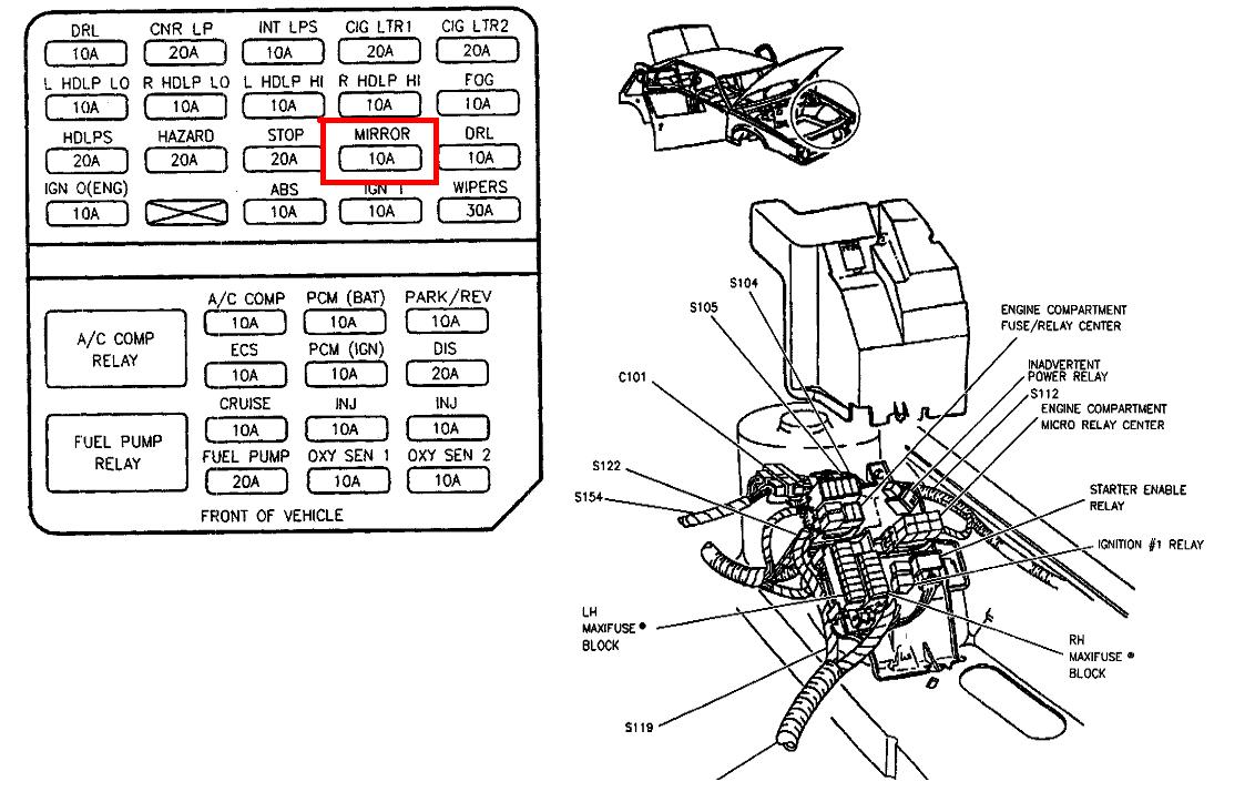 Cadillac Deville Serpentine Belt Diagram Image Details 01 Wire 97 Fuse Box