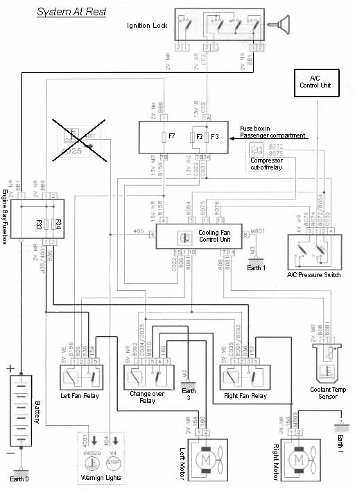 AC Condenser Fan Motor Wiring Diagram - image details on