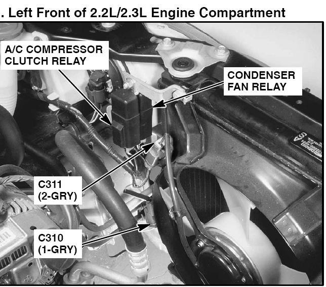Acura TL A C Compressor Clutch Relay - image details on