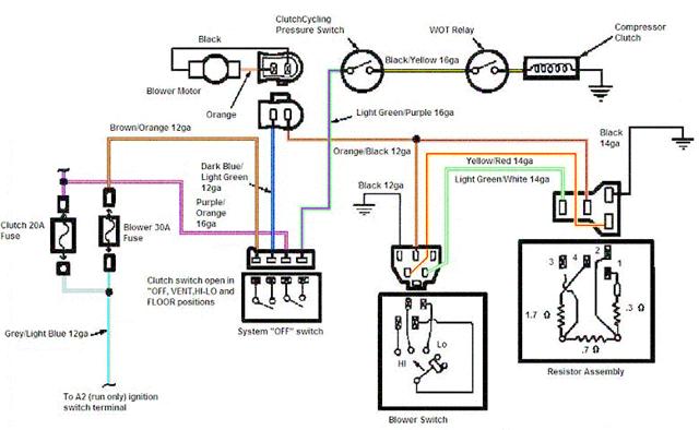 auto ac wiring diagram schematics wiring diagrams u2022 rh schoosretailstores com AC Control Unit Wiring Wiring Switches and Receptacles