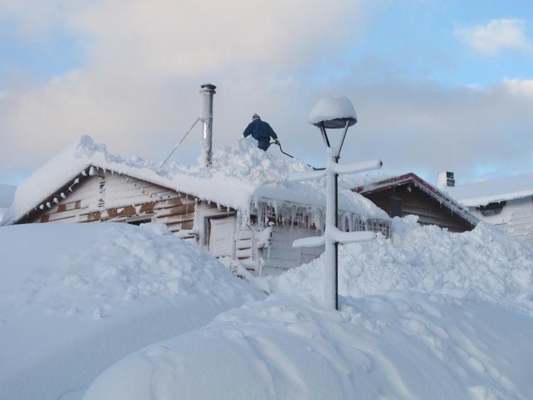 Alaska Snow Storm 2012
