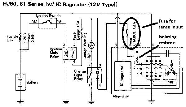 alternator regulator wiring diagram wirdig alternator voltage regulator wiring diagram image details