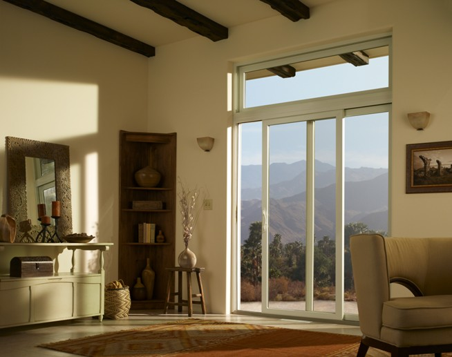 Anderson Patio Doors with Transom Windows