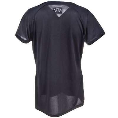 Armour Shirts: Women's Black 1228321 001 UA Tech Short Sleeve Shirt