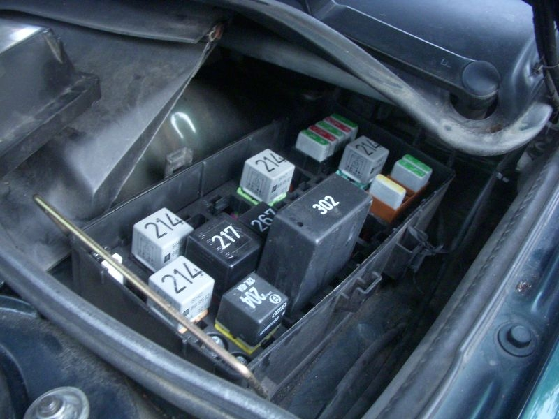 Audi A4 Fan Relay Fuses Location