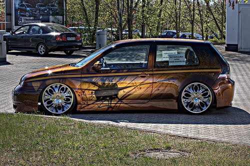 Auto Car Tuning Golf Pictures