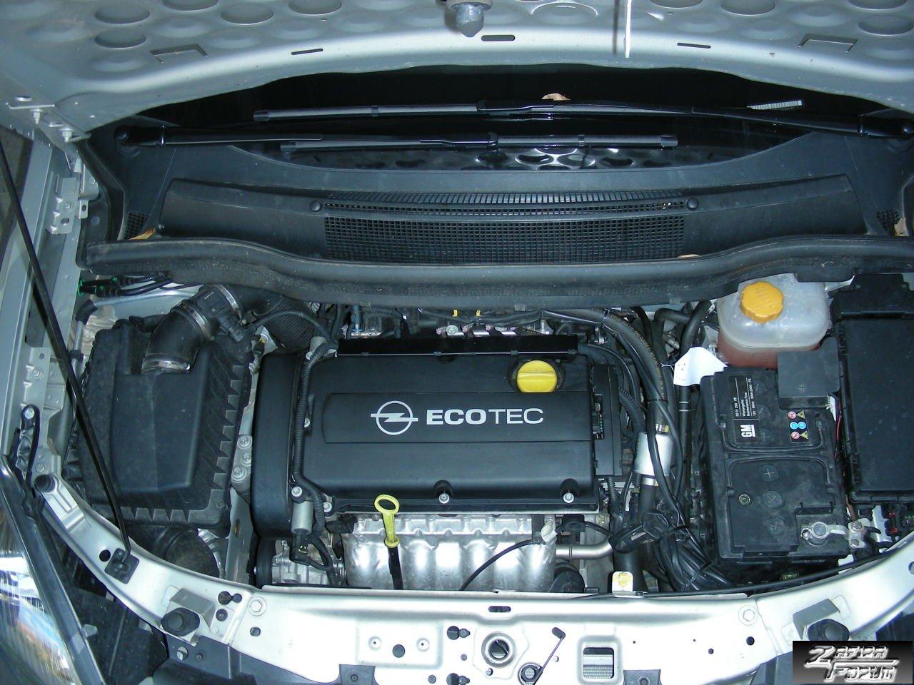Übersicht] Übersicht Motor u. Typschlüsselnummern Zafira B