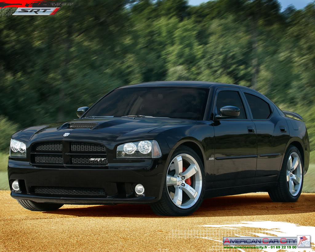 Black Dodge Charger Car