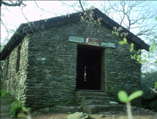 Blood Mountain Shelter Appalachian Trail