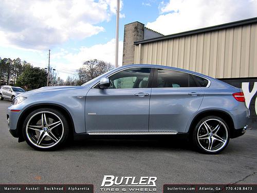 BMW X6 with Rims