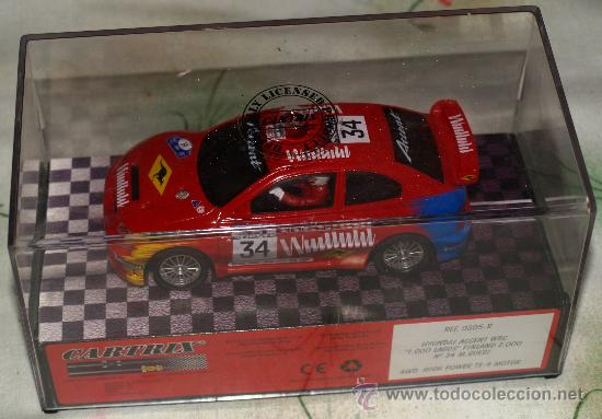 cartrix hyundai accent wrc 1000 lagos  Comprar Slot Cars Magic Cars y