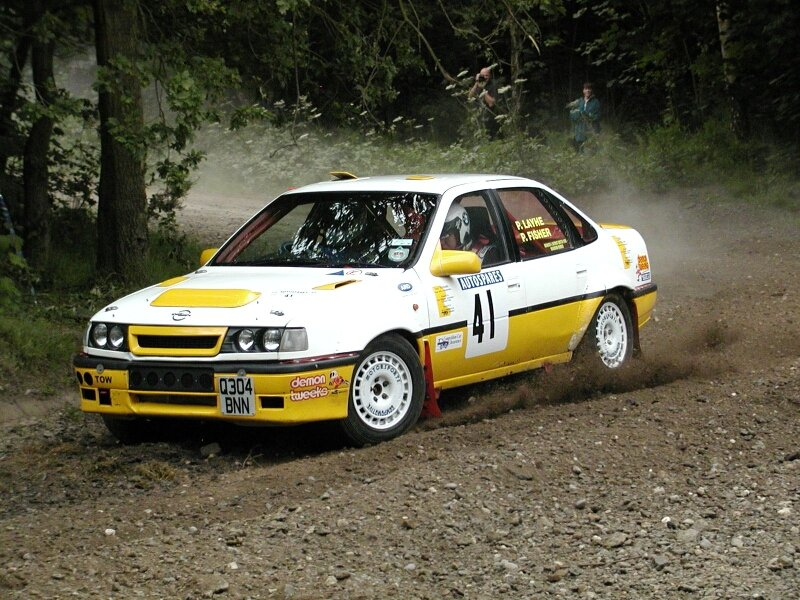 Cavalier Rally Car Race