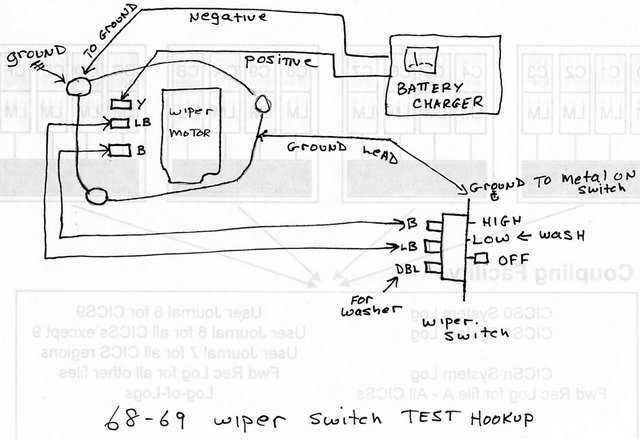 Chevelle Wiper Motor Wiring Diagram