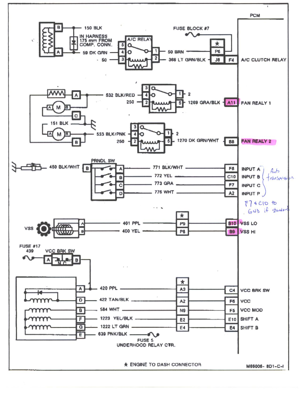Chevy Astro Van Alternator Wiring Diagram