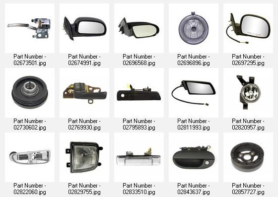 Chevy Auto Parts Catalog