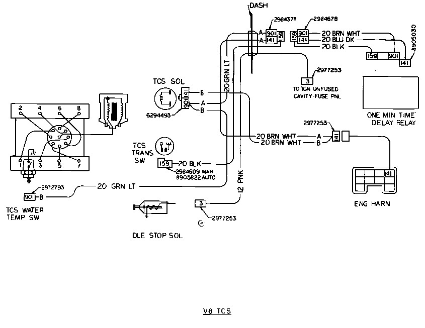 sbc 350 wiring diagram