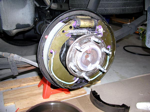 Chevy Colorado Rear Brakes