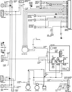 Chevy K10 WiringDiagram
