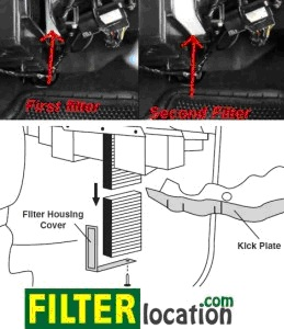Chevy Tahoe Cabin Air Filter Location