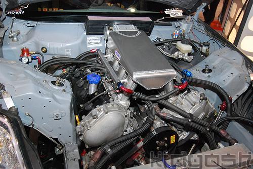 Chris Forsberg Nissan VK56DE Engine