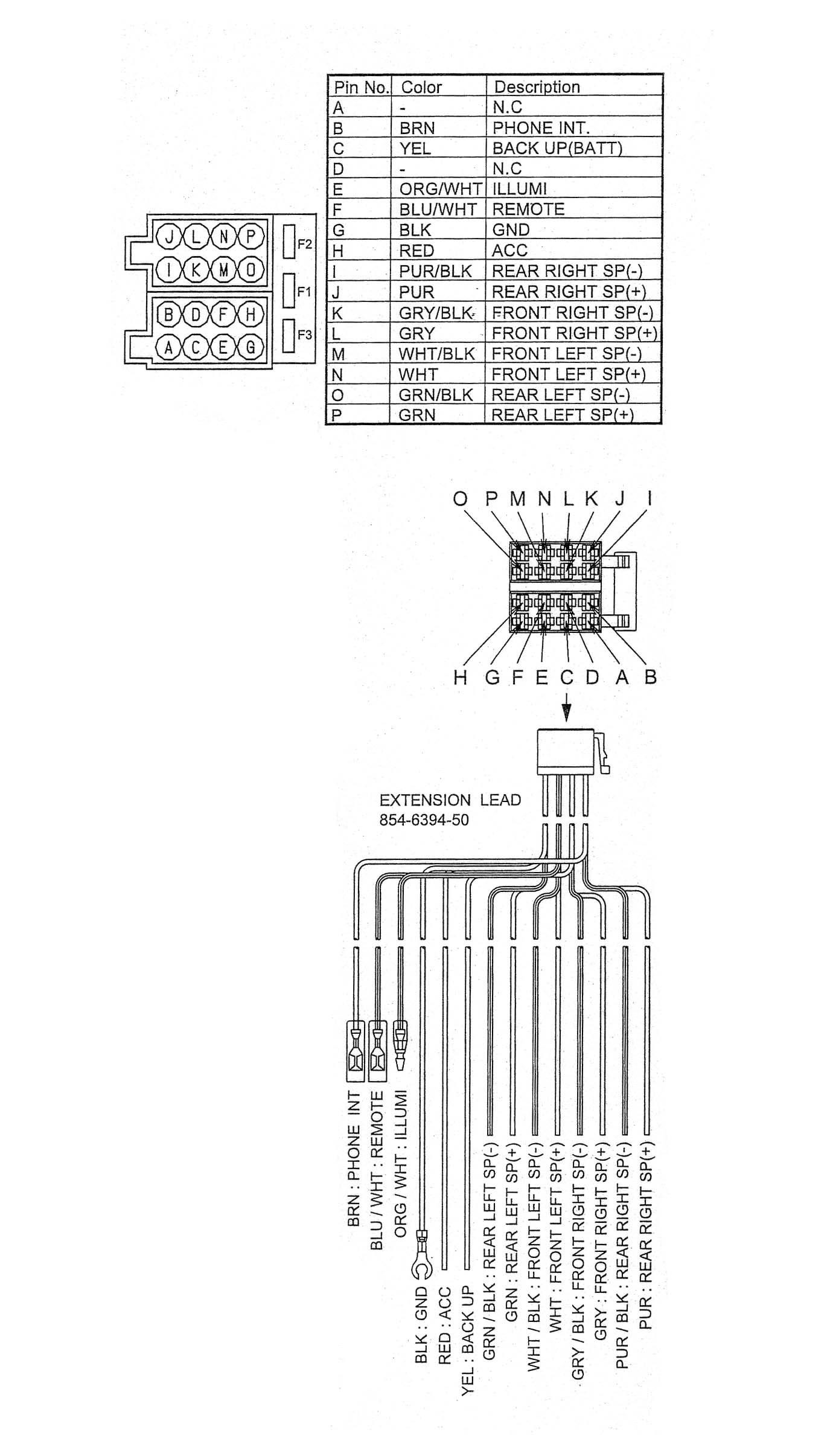 Radio Wiring Diagram For 2000 Mitsubishi Montero Sport