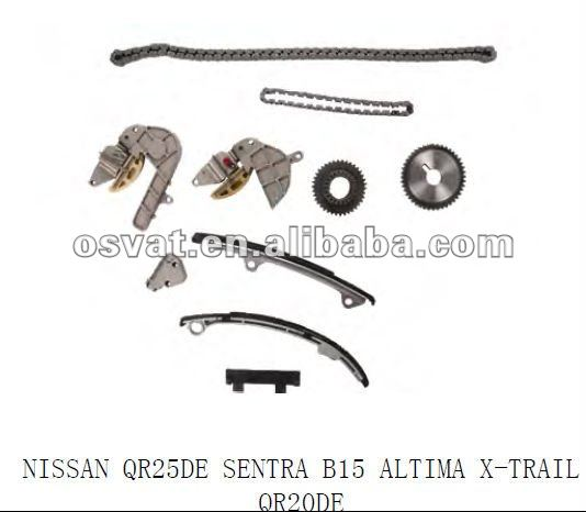 .com: 0206 Nissan Sentra Altima 2.5 DOHC 16V QR25DE Timing Chain