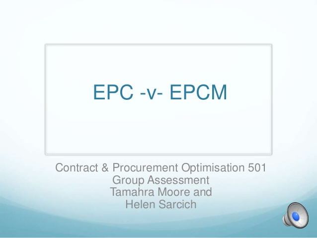 Contract EPC Business Model