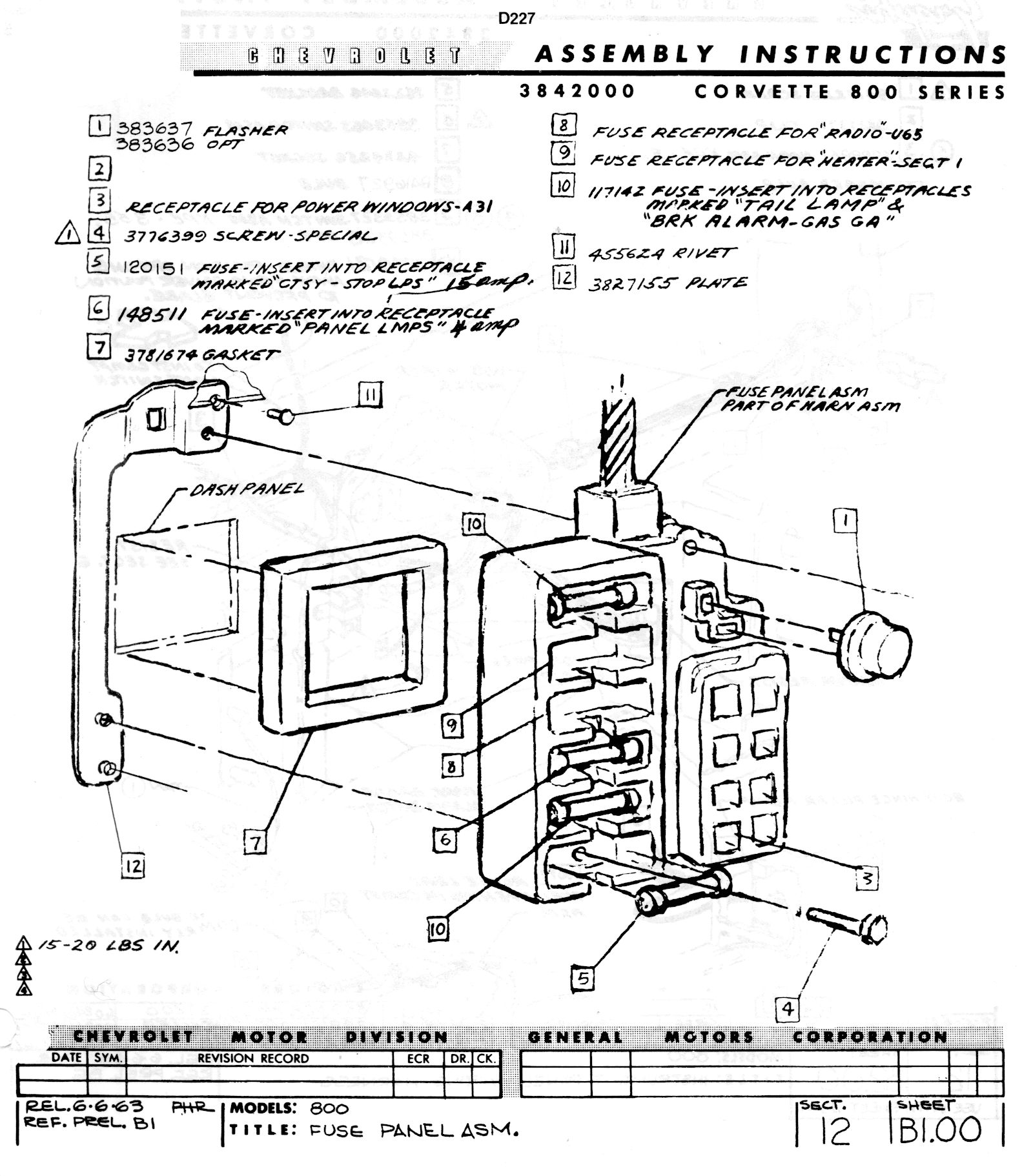 corvette fuse box diagram