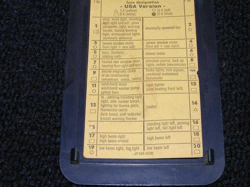 1984 Corvette Fuse Box Diagram Image Details