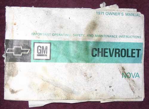 corvette shop manual 1971 chevrolet nova owners manual $ 25