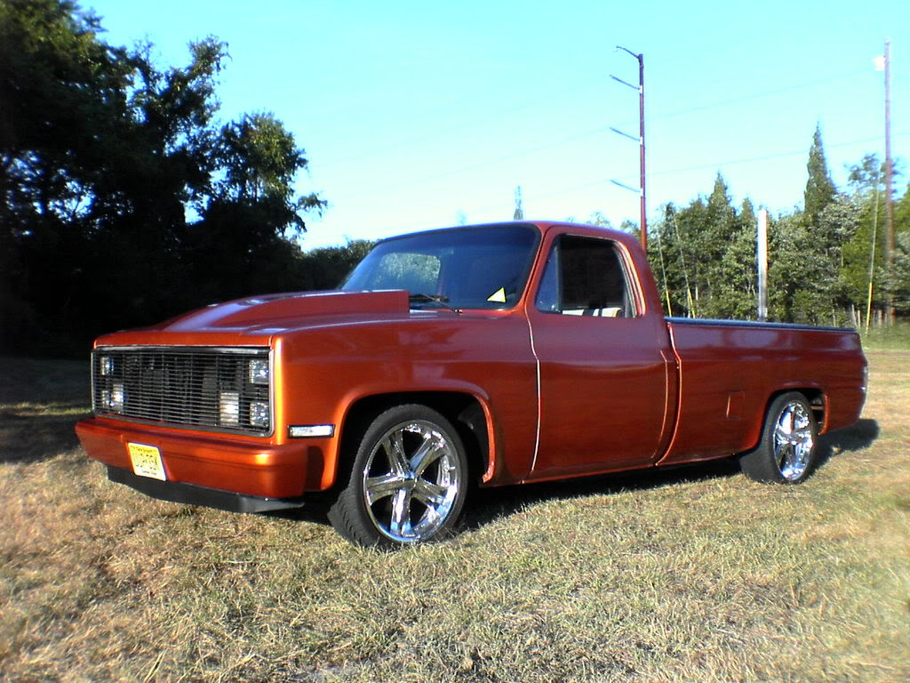 Custom 1984 C10 Chevy Truck