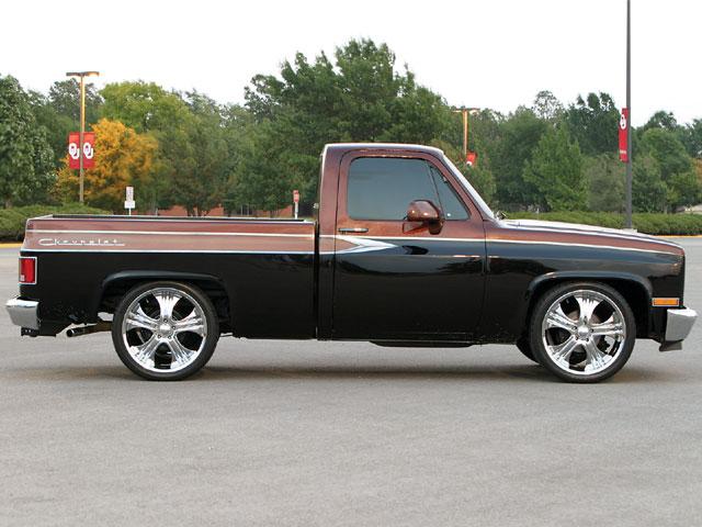 Custom 1984 Chevy Truck