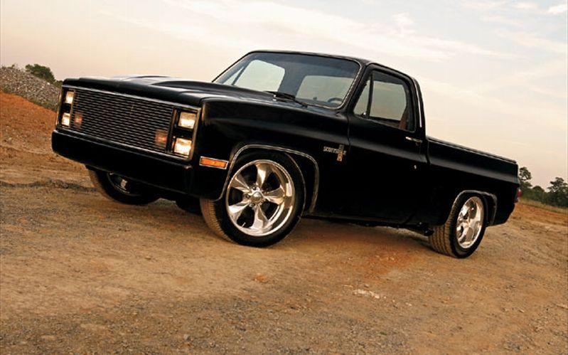 1985 Chevy Silverado Custom Trucks Image Details