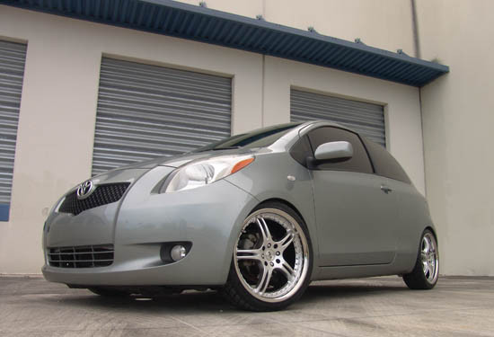 Custom Toyota Yaris