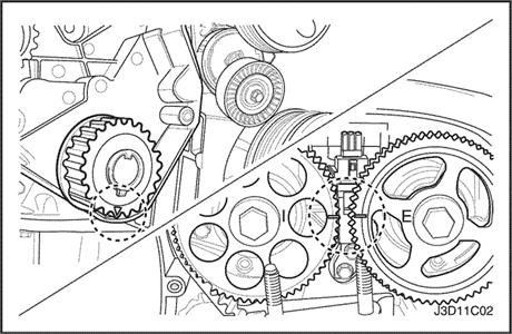 quality timing belt kit daewoo tacuma nubira nexia lanos kalos rh motogurumag com 2000 daewoo leganza timing belt diagram daewoo nubira timing belt diagram