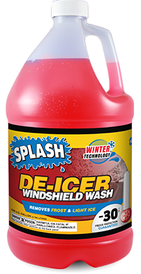 DeIcer Windshield Washer Fluid With
