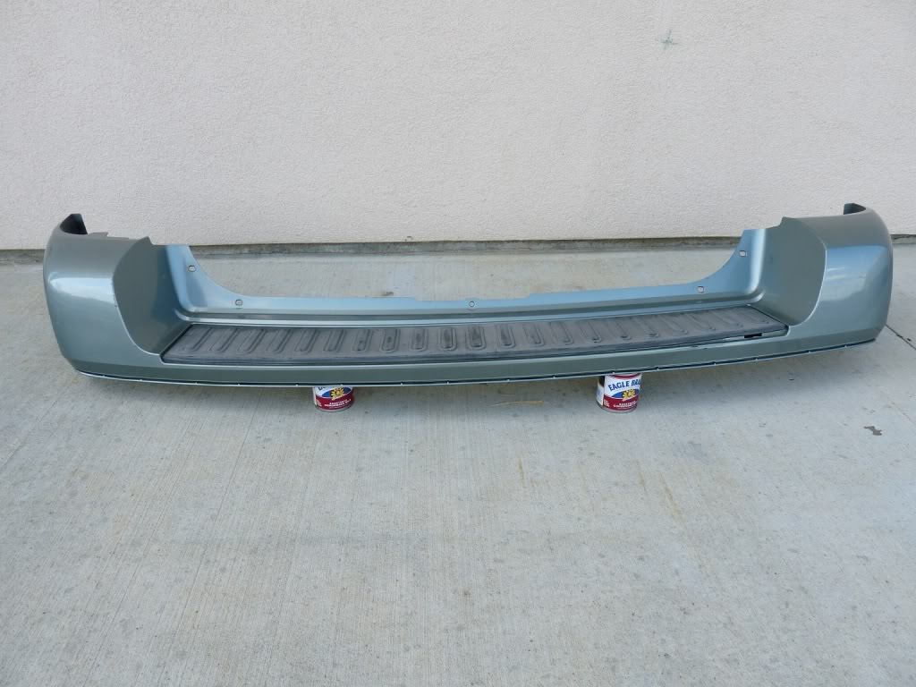 Details about 05 06 07 FORD FREESTYLE REAR BUMPER COVER OEM