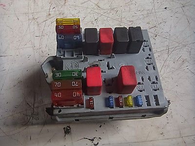 Details about FIAT STILO fuse box  1.6EDC4  46796533  2001  98176