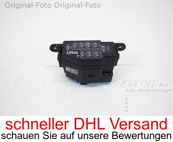 Details about fuse box Ford Ranger 2.5 TDCi 4x4 05.06