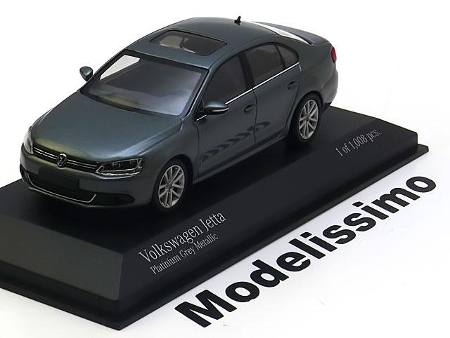 Details zu 1:43 Minichamps VW Jetta 2010 greymetallic