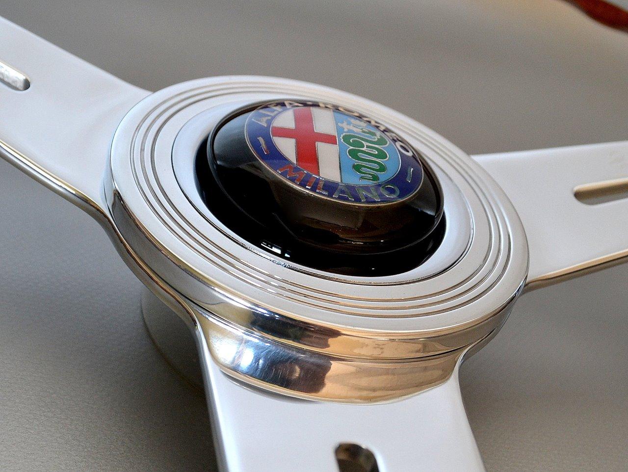 Details zu NARDI Alfa Romeo Holz Lenkrad wood steering wheel volante