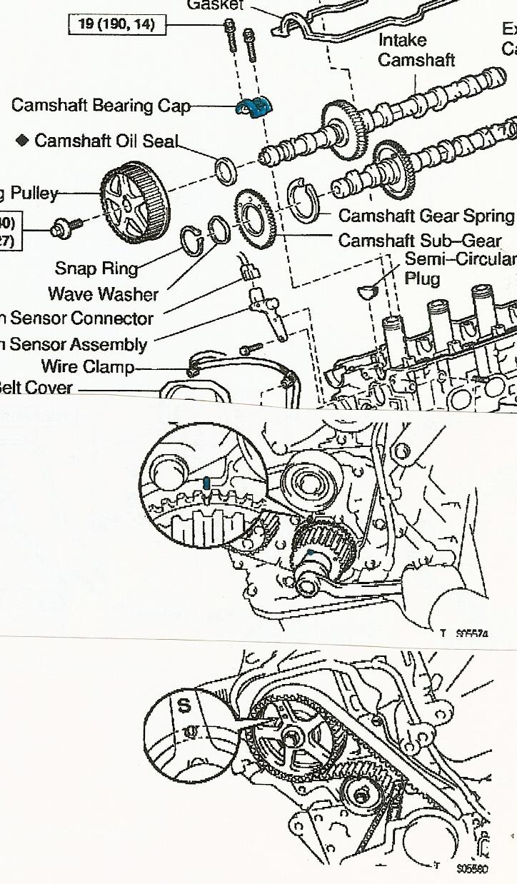 Dodge Intrepid 2.7 Timing Marks