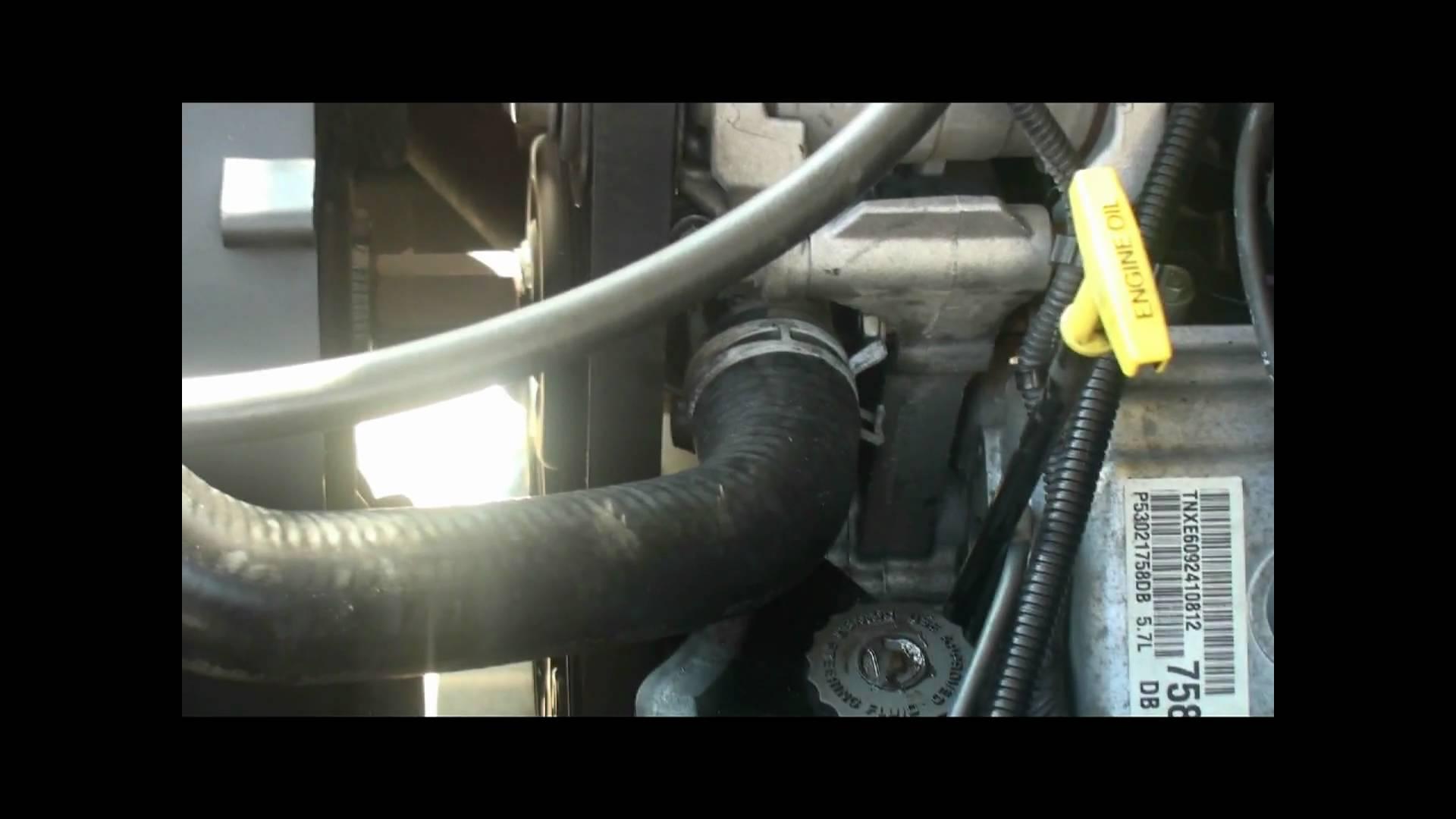 2005 Ford Escape Thermostat Location