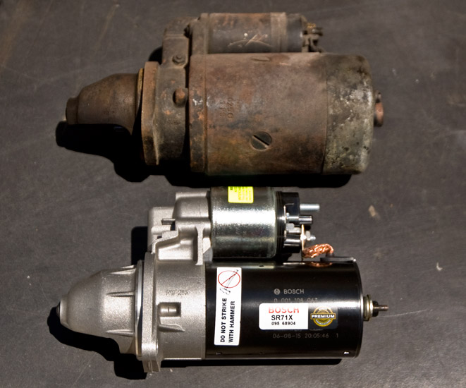 Electric Motor Starter Components