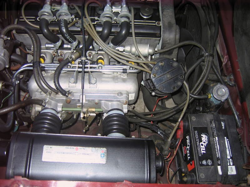 Electronic Fuel Injection Engine