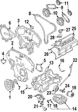 Engine Timing Engine Timing Chain Kit Fits Infiniti Nissan Fx35 Altima