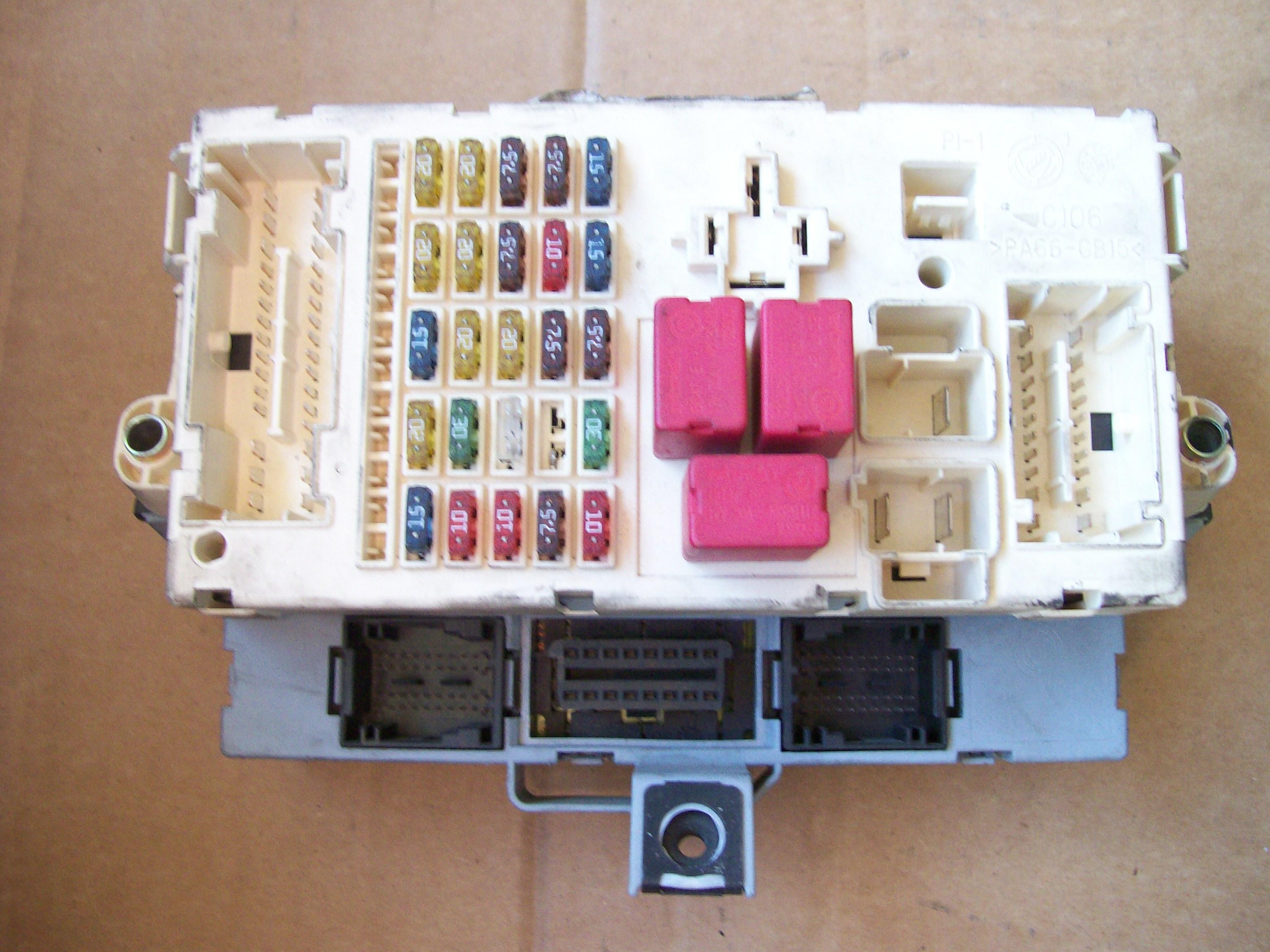 Fiat 500 Fuse Box