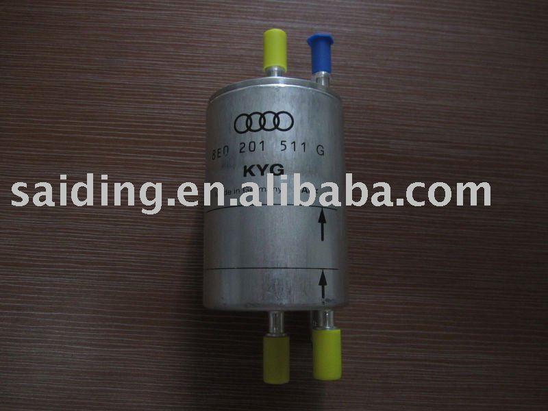 Filtro de combustible para Audi A4 8E0 201 511 GSistema de