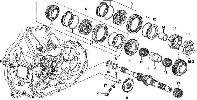 2004 honda crv automatic transmission image details rh motogurumag com 2001 honda crv transmission diagram 2000 honda cr v transmission diagram