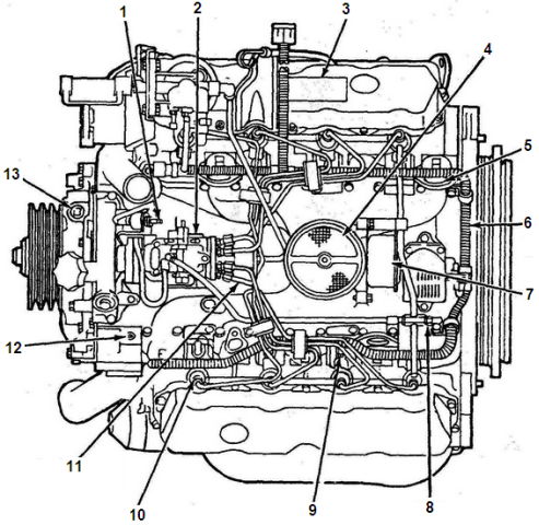 Bl img ford025 together with 2000 Crown Vic Serpentine Belt Diagram in addition T8053590 Dove si trova il sensore besides 97ford Explorer 4 0 Spark Plug Replacement Diagram besides 123783 3 0 Broken Timing Chain. on ford ranger 3 0 engine parts diagram